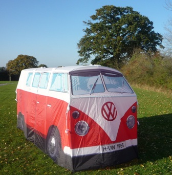 VW Camper Tent new glamping accommodation for 2012