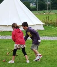 children's Activities at Dorset Country Holidays Glamping