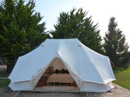 Dorset Country Holidays Glamping for 6 - Bell tent glamping holiday - glamping dorset - glamping uk, yurt glamping - glamping uk