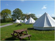 bell tent glaming