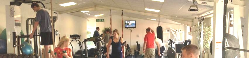 dorset glamping site gym