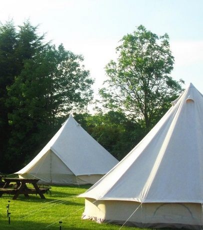 Glamping at Dorset Country Holidays